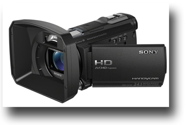Sony HDR CX 740 VE - camera video drone